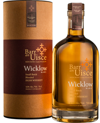 Barr An Uisce Irish Whiskey Small Batch Wicklow Rare 750ml
